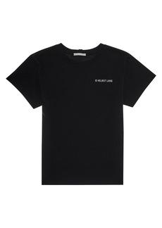 Helmut Lang Classic Logo Heavy Cotton T-Shirt