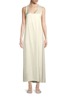 Helmut Lang Satin Tank Dress