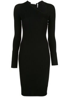 Helmut Lang colour block dress