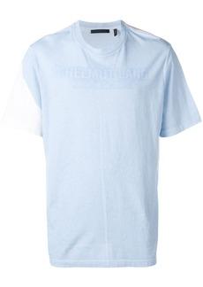 Helmut Lang colour-block logo T-shirt