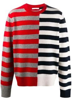Helmut Lang colour-block striped jumper