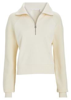Helmut Lang Combo Half-Zip Sweatshirt