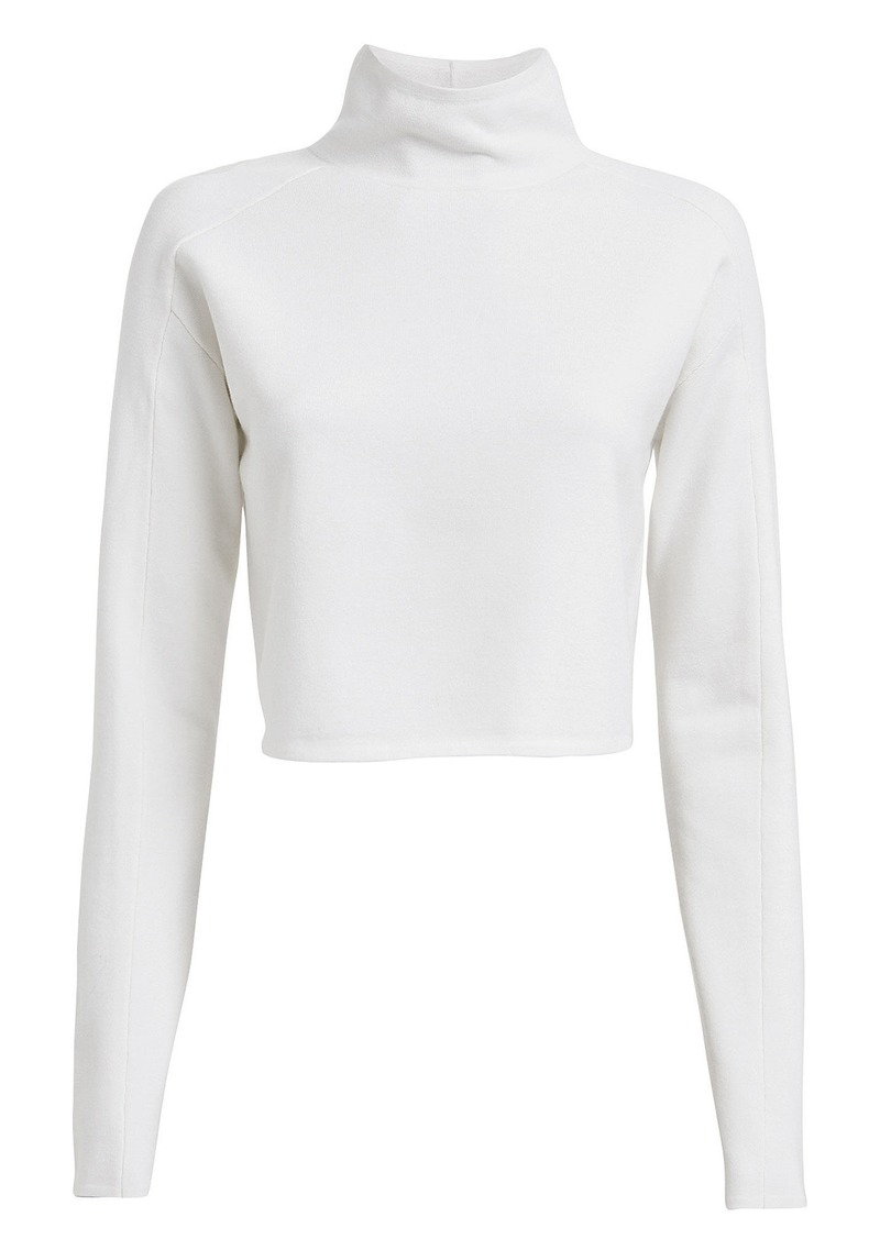 Helmut Lang Compact Wool Turtleneck Sweater
