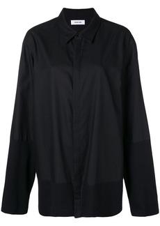 Helmut Lang concealed front shirt
