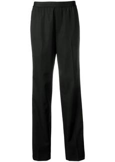 Helmut Lang contrast stripe trousers