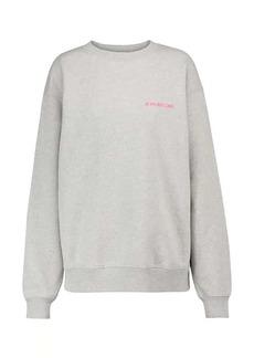 Helmut Lang Cotton jersey sweatshirt