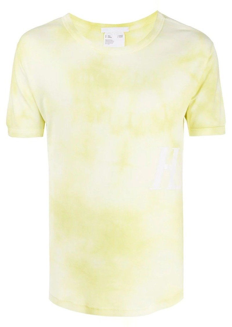 Helmut Lang cotton tie-dye T-shirt