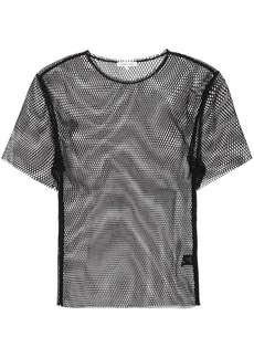 Helmut Lang Courtney fishnet top