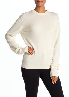 Helmut Lang Crew Neck Cashmere Pullover Sweater
