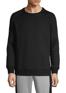 Helmut Lang Crewneck Cotton Blend Sweater