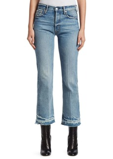 Helmut Lang Cropped Straight Leg Jeans