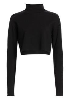 Helmut Lang Cropped Turtleneck Sweater