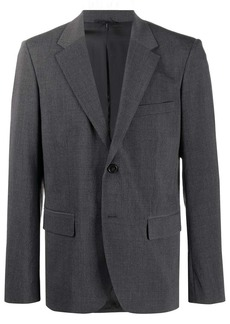 Helmut Lang crushed two-button suit jacket