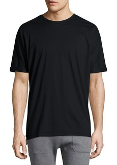 Helmut Lang Cuffed-Sleeve Oversized Short-Sleeve T-Shirt