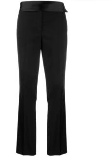 Helmut Lang cummerbund trousers