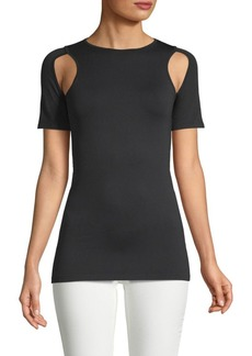 Helmut Lang Cut-Off Seamless Tee