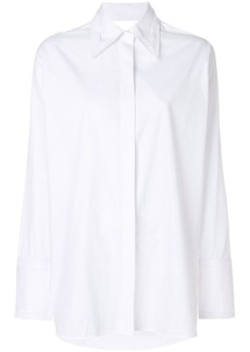 Helmut Lang cut out shirt