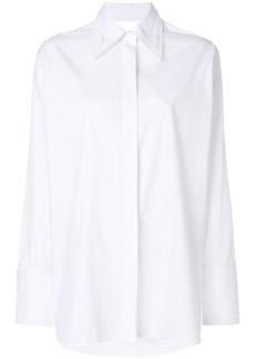Helmut Lang cut out shirt