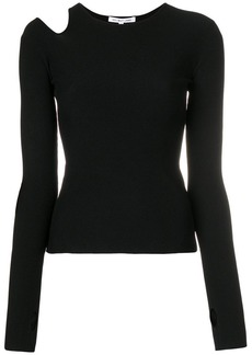 Helmut Lang cut out top