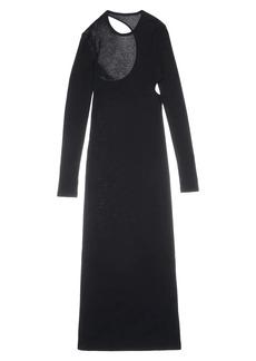 Helmut Lang Cutout Knit Midi Dress