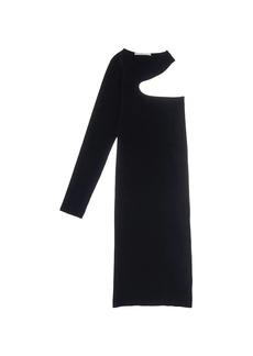 Helmut Lang Cutout Midi Dress