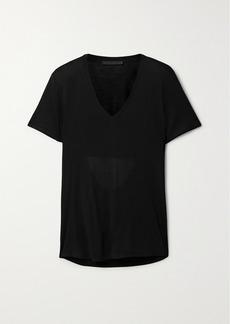 Helmut Lang Cutout Modal-jersey T-shirt
