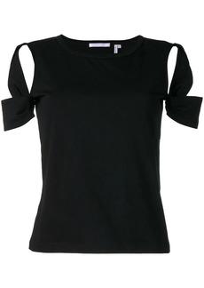 Helmut Lang cutout T-shirt