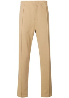 Helmut Lang darted leg track trousers
