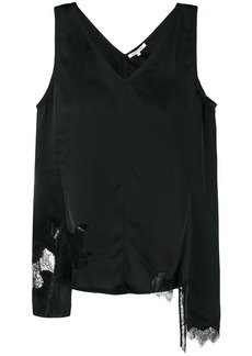 Helmut Lang deconstructed slip top