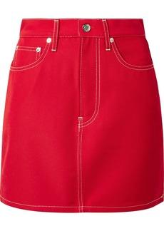 Helmut Lang Denim Mini Skirt