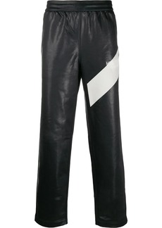 Helmut Lang diagonal stripe trousers