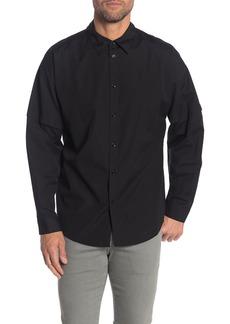 Helmut Lang Distorted Arm Long Sleeve Shirt