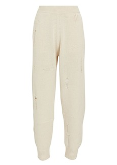 Helmut Lang Distressed Knit Joggers