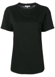 Helmut Lang distressed short sleeve T-shirt