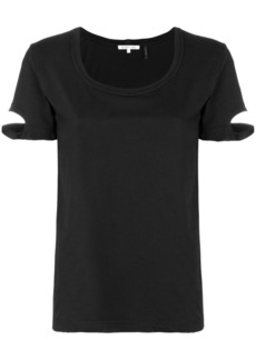 Helmut Lang distressed T-shirt