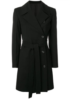 Helmut Lang double breasted trench