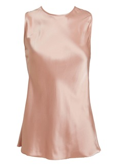 Helmut Lang Double-Faced Satin Twist Tank