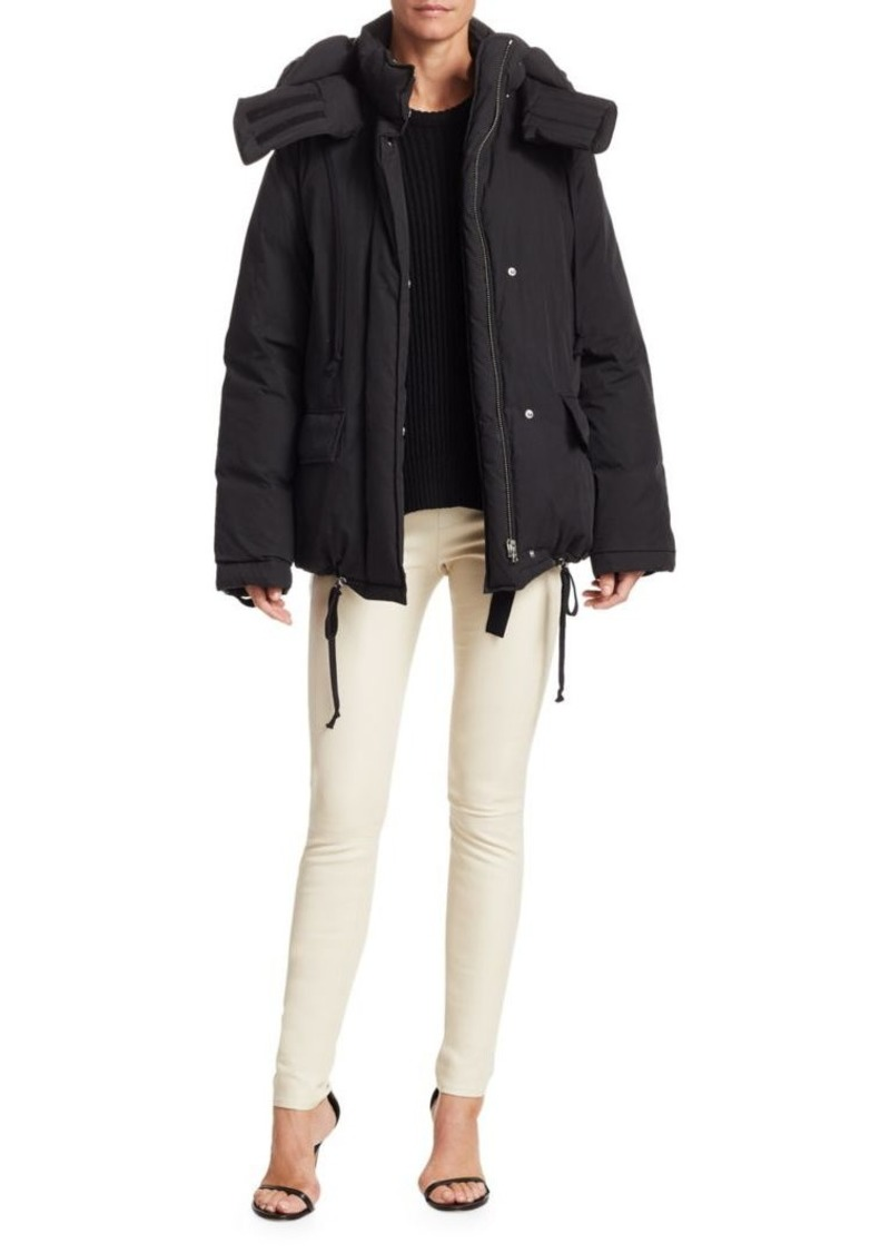 Helmut Lang Down & Feather Fill Puffer Jacket