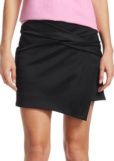 c025a58c51 Helmut Lang Helmut Lang Houndstooth-Printed Pleated Mini Skirt w ...