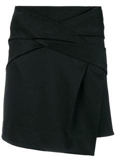 Helmut Lang draped knot skirt