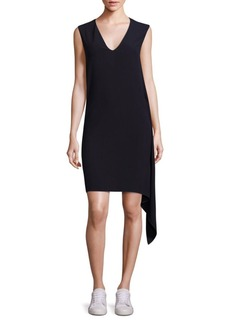 Helmut Lang Draped Shift Dress