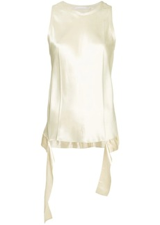 Helmut Lang draped tank top