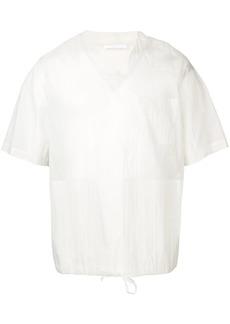 Helmut Lang drawstring waist T-shirt