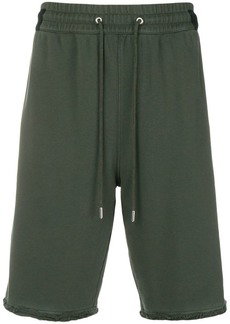 Helmut Lang drawstring-waist track shorts