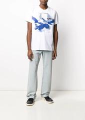 Helmut Lang eagle print T-shirt