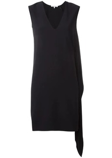 Helmut Lang elongated detailing V-neck dress