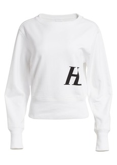Helmut Lang Femme Cotton Crewneck Sweatshirt