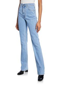 Helmut Lang Femme Hi Boot-Cut Jeans