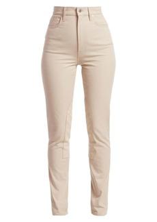 Helmut Lang Femme Hi-Rider Stretch Cotton Jeans