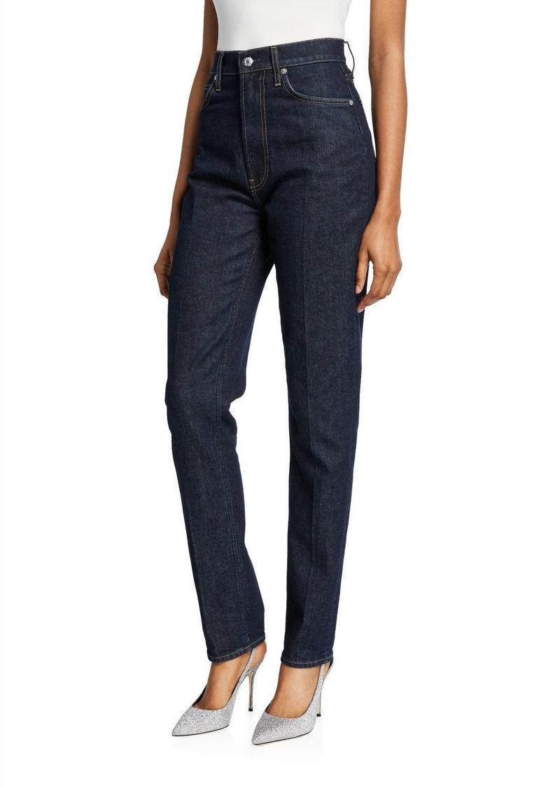 Helmut Lang Femme Hi Spikes High-Rise Jeans